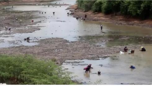 Chi river ,Khon Kaen