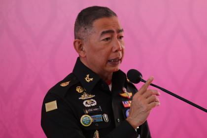 Royal Thai Army commander-in-chief General Apirat Kongsompong