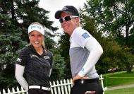 Brooke Hendersona and Alena Sharp / LPGA Photo