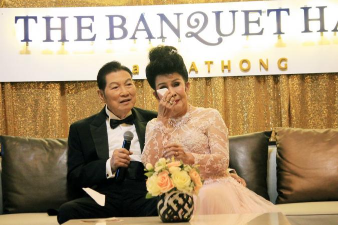 Petchara Chaowarat and  Charin Nantanakorn