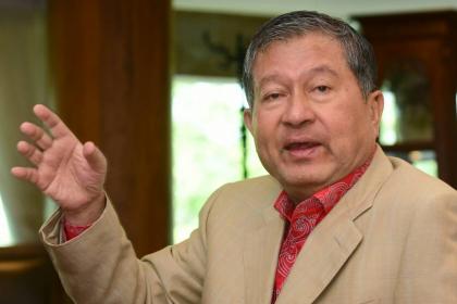 Veteran politician Chalerm Yoobamrung, a Pheu Thai Party key figure