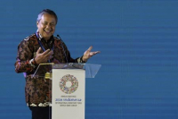 Bank Indonesia Governor Perry Warjiyo (Antara/Puspa Perwitasari)