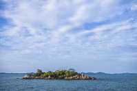 Picturesque Tanjung Kerasak Beach in South Bangka, Bangka Belitung Island regency (Shutterstock/Sony Herdiana)