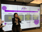 """SCB's chief SME banking officer Pikun Srimahunt: """"The biggest challenge facing SMEs is their ability to adapt to technological change and diversify their customer segments to mitigate risks."""""""