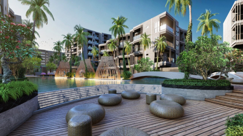 An image of the Carapace Hua Hin-Khao Tao resort. Construction of its first phase is expected to be completed in 2020.