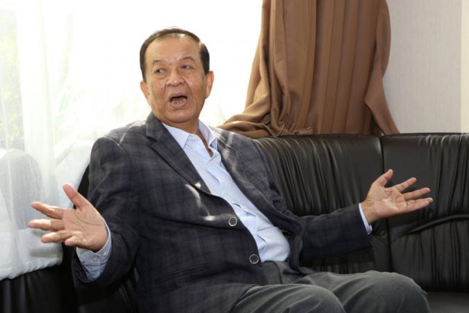 Prachachat Party leader Wan Muhammad Noor Matha