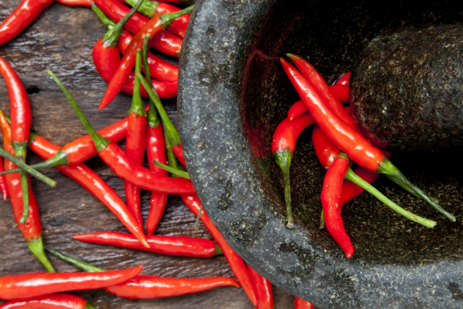 Among the types of chili examined by the researchers were dried and fresh chili peppers. (Shutterstock/File)
