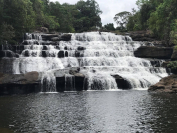 Tad Xai and Pha Xay waterfalls are conveniently close to each other./Vientiane Times