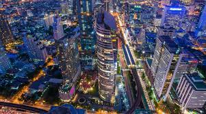 Bangkok's bird eye view/Photo by Knight Frank Thailand