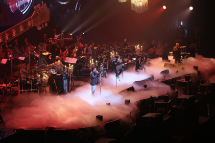 """The concert of one of the greatest bands of the '80s, Grand Ex', in  """"Grand Ex' Boriboon"""" featured some 30 songs, most of them hits from the band's heyday."""
