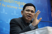 File Photo: Prayut Phetchakhun, deputy spokesperson at the Office of the Attorney General