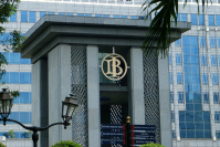 The Bank Indonesia building on Jl. MH Thamrin in Central Jakarta. (Shutterstock.com/Harismoyo )