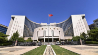This Sept 28, 2018 photo shows the headquarters of the People's Bank of China, the central bank in Beijing. (PHOTO / VCG)