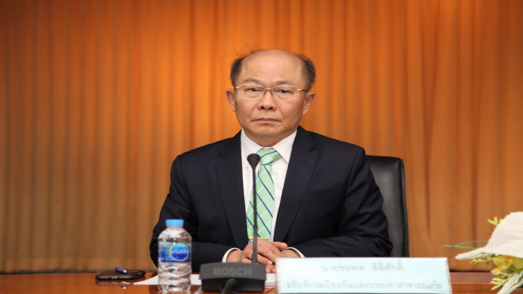 Department of Disaster Prevention and Mitigation (DDPM) director-general Chayaphol Thitisak