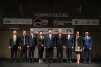 Government officials and trade show organisers come together to promote the upcoming Asean (Intermat) and Concrete Asia (Concrete Asia) shows in Bangkok.