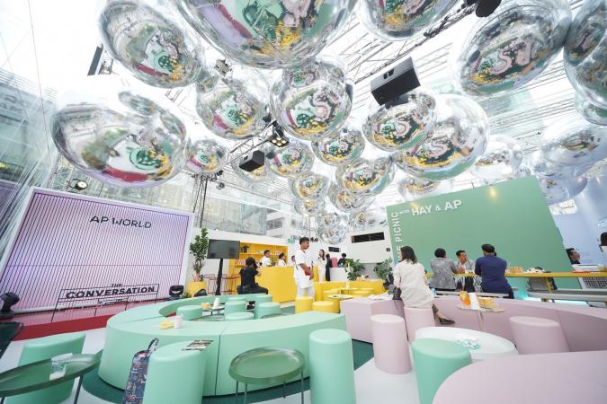 AP Pavillion at Parc Paragon is designed by Japanese architect Tetsuo Kondo.