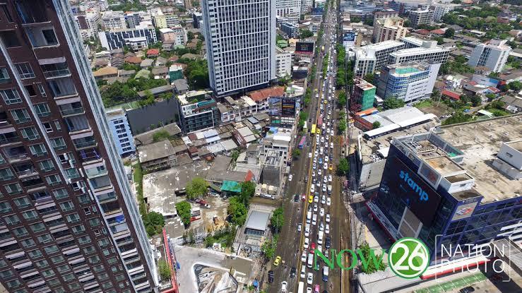 Bangkok's bird eye view/Photo by The Nation