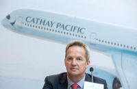 Cathay Pacific Airways Chief Executive Officer Rupert Hogg