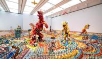 """Jurassic Plastic,"" as a part of the exhibition ""Takamatsu Contemporary Art Annual vol. 07,"" (2018) Takamatsu Art Museum."