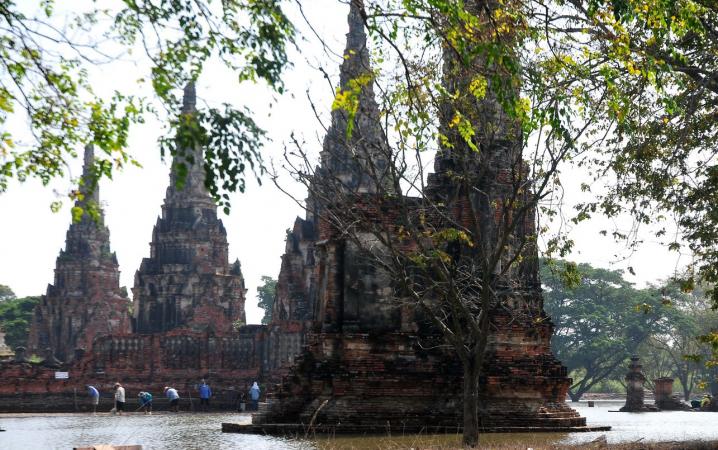 UNESCO-recognised Wat Chai Wattanaram, in a 2011 file photo