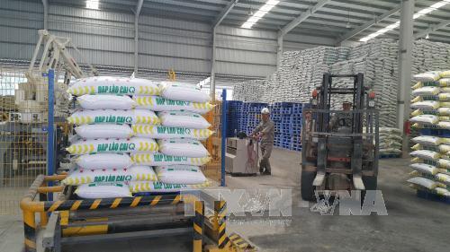 A fertiliser factory in Lao Cai.  (Photo: VNA/VNS)