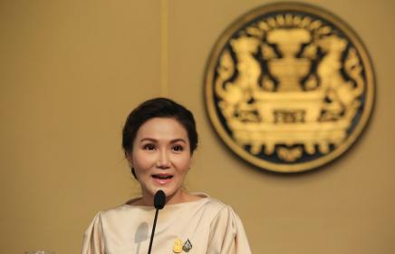 Government spokeswoman Naruemol Phinyosinwat