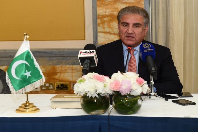 Pakistani Foreign Minister Shah Mahmood Qureshi (Photo: IANS)