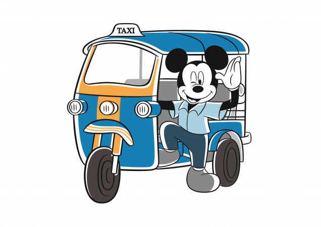 """Mickey Go Thailand"" campaign kicks off this month and running through the end of 2020."