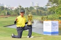 Argentina's Miguel Carballo  (Asian Tour photo)