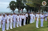 Asean-US maritime exercise opening ceremony at Sattahip naval base, Thailand. (Photo courtesy of the Philippine Navy)