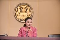 Government Spokeperson Narumon Pinyosinwat (Photo credit: Royal Thai Government website)