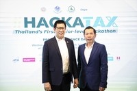 Ekniti Nitithanprapas, director-general of the Revenue Department (left) and Nuttapon Nimmanphatcharin, CEO/president of DEPA (right).