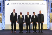 From left to right - Mr. Uwe Quaas managing director, BMW Group Manufacturing Thailand,