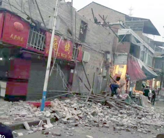 Earthquakes hits Sichuan. [Photo/IC]