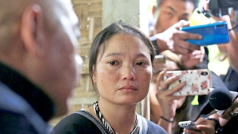 "File Photo: Pinnapa Prueksaphan, the widower of Karen activist Porlajee ""Billy"" Rakchongcharoen"