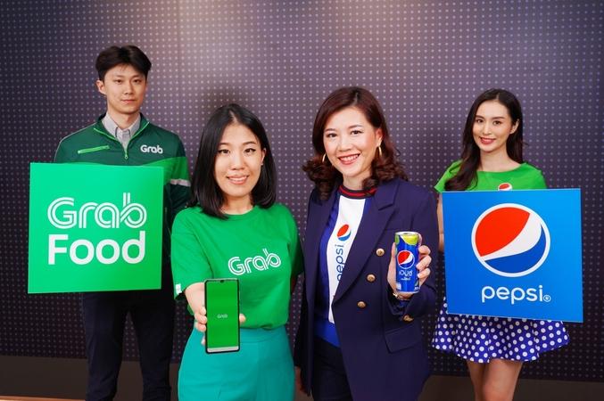 "Pepsi goes for big leap forward through ""GrabFood"" Partnership"