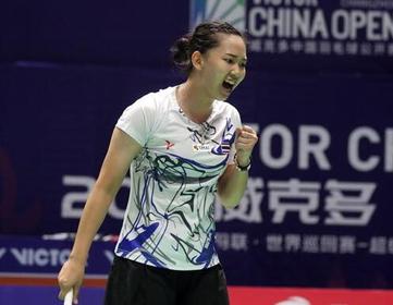 Pornpawee Chochuwong (Badminton Photo)
