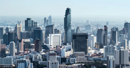 Bangkok's Central Business District (File Photo: The Nation )