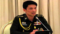 File Photo: Army spokesman Colonel Winthai Suvaree