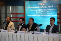 chief executive officer Somchai Meesen, right