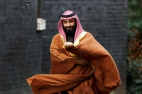 Saudi Crown Prince Mohammed Bin Salman / Bloomberg photo by Luke MacGregor/Washington Post Syndication