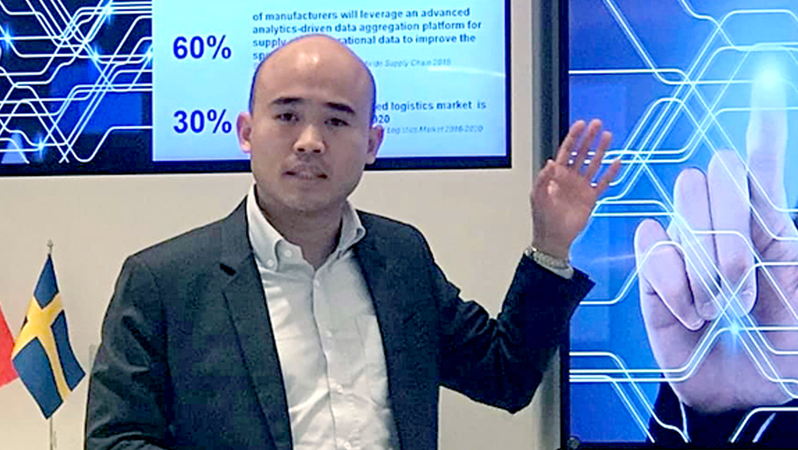Supanat Ratanadib, marketing director at Tetra Pak (Thailand)