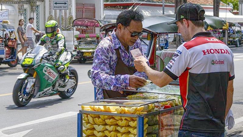 MotoGP™ hits the streets of Bangkok