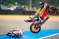 Marquez' Friday highside - image courtesy of HRC/CormacGP