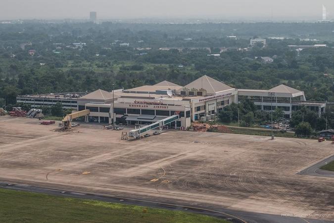 Khon Kaen Airport Expansion One-Third Complete