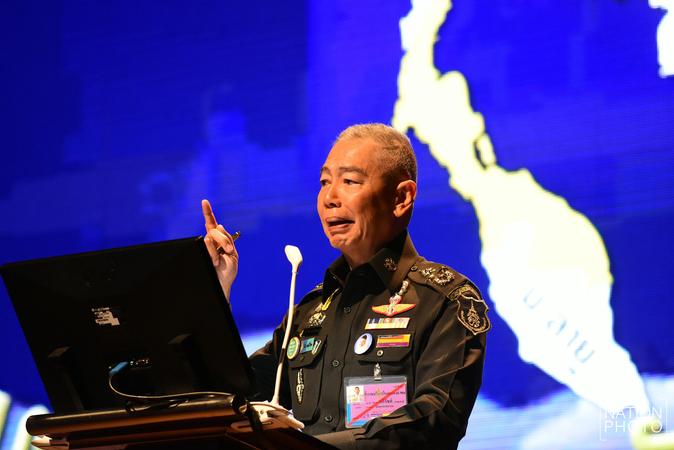 Army chief General Apirat Kongsompong