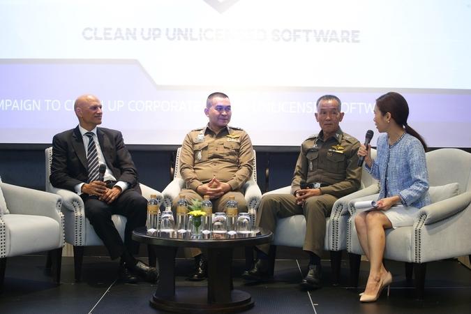 泰国警察正与BSA软件联盟开展遏制已发布的非法软件运动