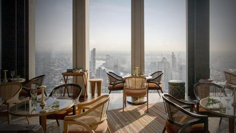Feast awaits 76 floors straight up