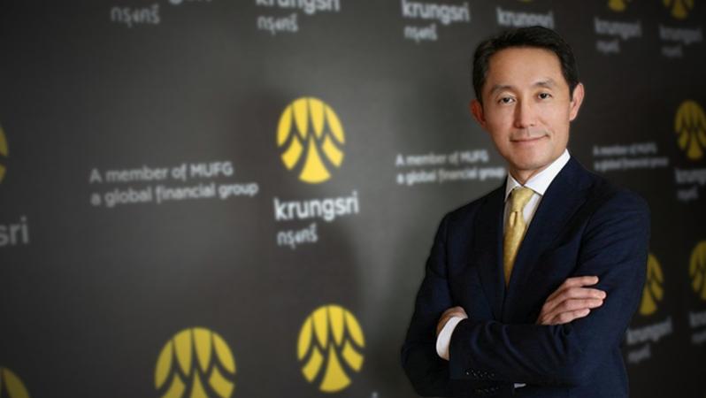 Krungsri president and CEO Seiichiro Akita