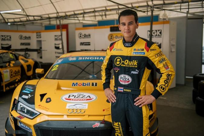 Thai Driver Sandy Kraokaew Stuvik Raring To Compete In Buriram